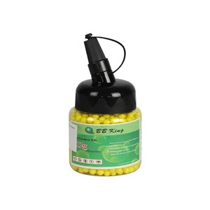 4 BBs Airsoft BB King 0.12g 1000un + 15 Cilindro CO2 QGK 12g