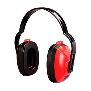 Abafador de Ruídos Tipo Concha Vermelho – 3M
