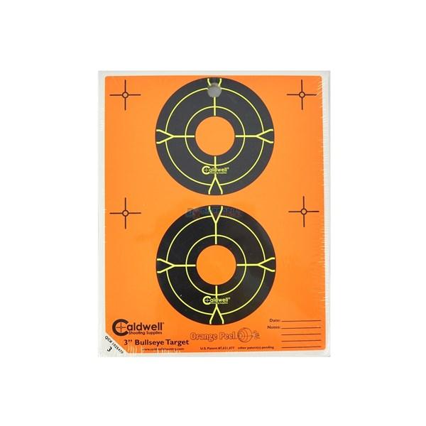 Alvo Caldwell Orange Peel 3 Bullseye - 15 (un.)