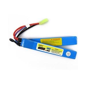 Bateria Airsoft Lipo Feasso FFB-001 (15C) 1500mAh 7.4v