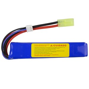Bateria Airsoft Lipo FFB-008 (15C) 900mAh 7.4v - Feasso