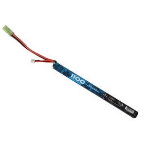 Bateria Airsoft Lipo QGK (20C) 1100mAh 7.4v