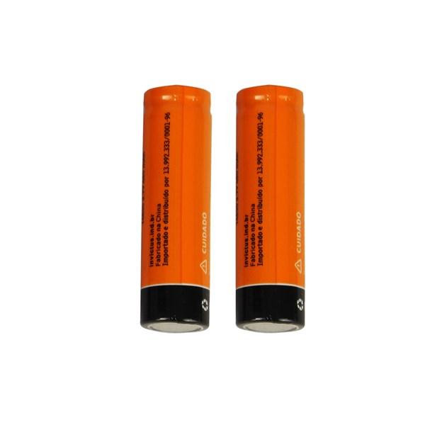 Bateria Recarregável Invictus 14500 3.7v 800mAh