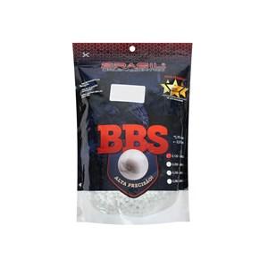 BBs Airsoft Munição Plástica 0.12g 5000un. - Brasil Equipamentos