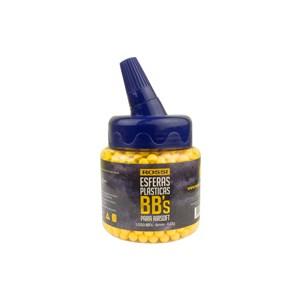 BBs Airsoft Munição Plástica BB King 0.12g 1000un.