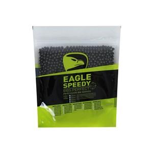 BBs Airsoft Munição Plástica Eagle Speedy Black 0.40g 2000un.