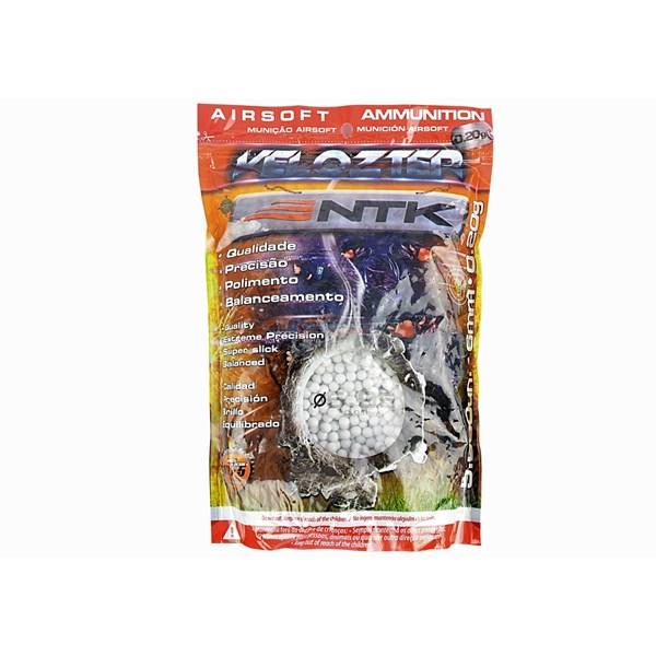 BBs Airsoft Munição Plástica Nautika Velozter 0.20g 5000un.