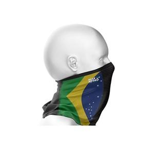 Buff De Pesca Proteção De Rosto FPS 50+ Brasil - Mar Negro