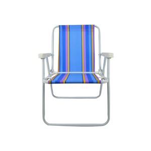 Cadeira Alta Dobrável Ferro - Mor