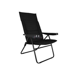 Cadeira Dobrável Alfa Preta - Mor