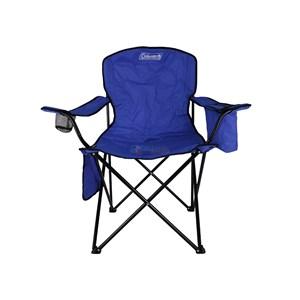 Cadeira Dobrável Azul Coleman Quad com Cooler