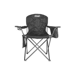 Cadeira Dobrável com Cooler Preta - Coleman