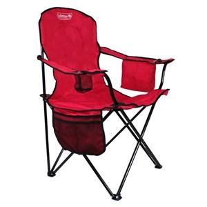 Cadeira Dobrável Quad Vermelha - Coleman