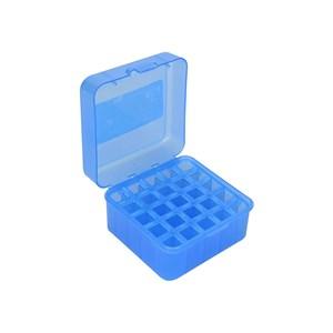 Caixa de Munição Azul Capacidade 25un. - Nautika