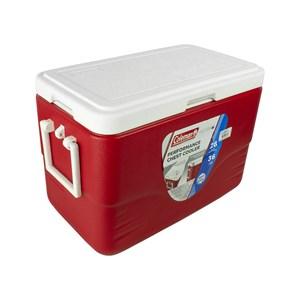 Caixa Térmica 28QT 26.5 Litros Com Alça Vermelha – Coleman