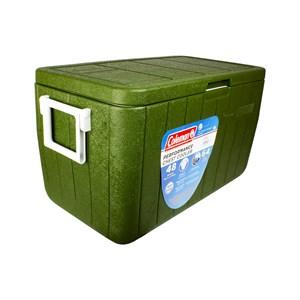 Caixa Térmica 48QT 45.4 Litros Com Alça All Green – Coleman