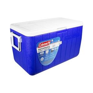 Caixa Térmica 48QT 45.4 Litros Com Alça Azul – Coleman