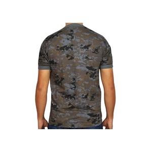 Camiseta Camuflada Digital Petróleo - Bravo Militar