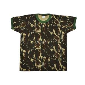 Camiseta Manga Curta Camuflado - Treme Terra