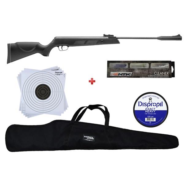 Carabina de Pressão Armais SR1000s 5.5mm + Capa 120 + Chumbo 5.5mm + NTK Cleaner + Alvo 14x14