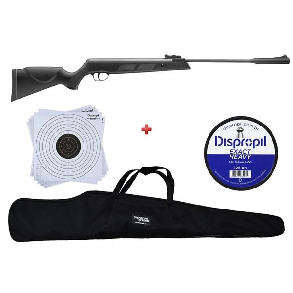 Carabina de Pressão Armais SR1000s 5.5mm + Capa 120 + Chumbo Dispropil 5.5mm + Alvo 17x17