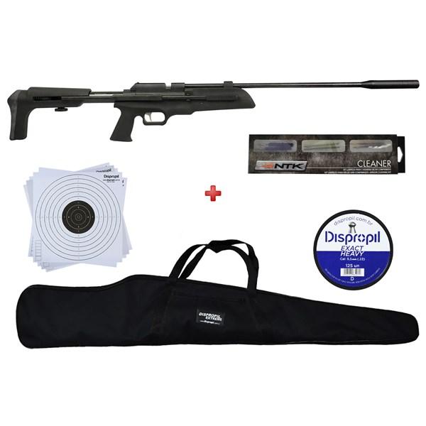Carabina de Pressão Artemis SR900s 5.5mm + Capa 120 + Chumbo 5.5mm + NTK Cleaner + Alvo 17x17