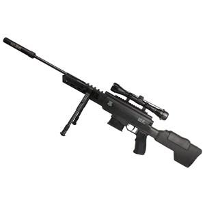 Carabina de Pressão Black Ops Sniper 5.5mm + Chumbo Technogun Mamuth + Chumbo Technogun Sonic 5.5mm