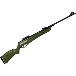 Carabina de Pressão CBC Jade PRO Oxidada Verde 4.5mm + Kit Pistão Mola Gás Ram Elite AirGuns 50kg