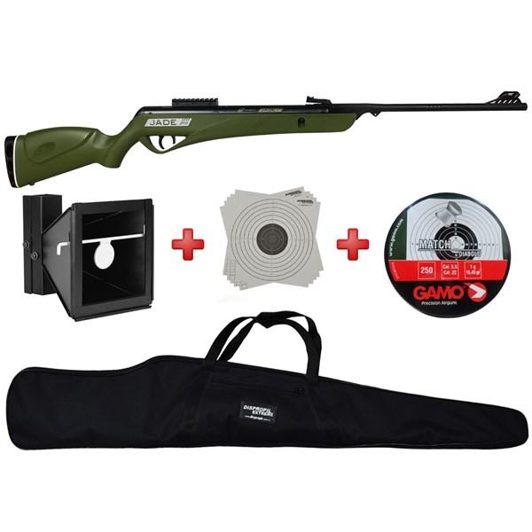 Carabina de Pressão CBC Jade PRO Verde 5.5mm Training 3