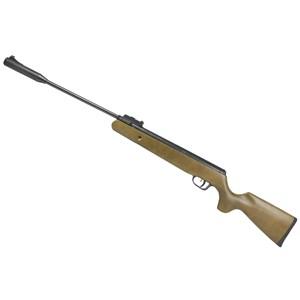 Carabina de Pressão Fixxar Black Hawk Madeira 5.5mm + Capa 120 + Chumbo Dispropil 5.5mm + Alvo 14x14