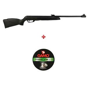 Carabina de Pressão Gamo Black Bear 5.5mm + Chumbo Gamo Expander 5.5mm