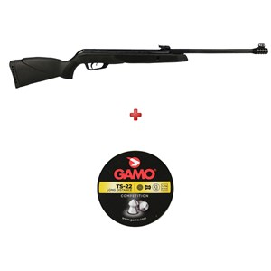 Carabina de Pressão Gamo Black Bear 5.5mm + Chumbo Gamo TS 22 5.5mm