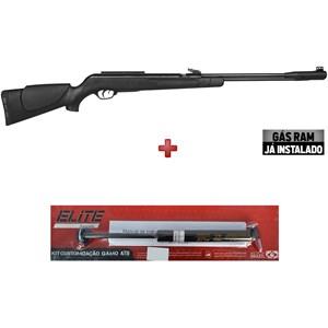 Carabina de Pressão Gamo CFX 5.5mm + Kit Mola Gás Ram Elite Airguns 45kg