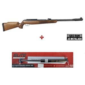 Carabina de Pressão Gamo CFX Royal 4.5mm + Kit Mola Gás Ram Elite Airguns 45kg