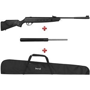 Carabina de Pressão Hatsan Striker Sniper 1000S 5.5mm + Gás Ram Fábrica Vortex 60kg + BRINDE Capa Si
