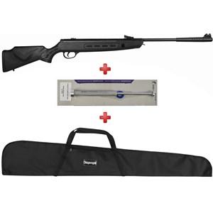 Carabina de Pressão Hatsan Striker Sniper 1000S 5.5mm + Kit Mola Gás Ram Quick Shot 55kg + Capa