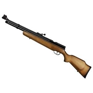 Carabina de Pressão Pcp B57 Madeira de Lei 5.5mm – Cbc + Gatilho Ajustável Quickshot