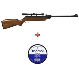 Carabina de Pressão QGK14 Madeira 5.5mm Pro Shot 1
