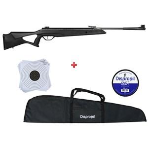Carabina de Pressão Rossi SAG R1000 5.5mm + Capa 120cm + Chumbo Dispropil 5.5mm + 50 Alvos Dispropil