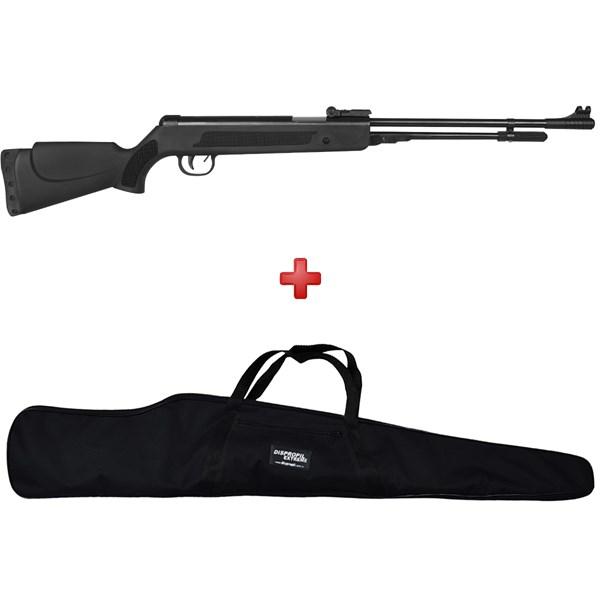 Carabina de Pressão Spring Black 5.5mm + Capa Simples - Fixxar