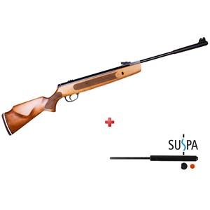 Carabina de Pressão Striker 1000X 5.5mm Madeira - Hatsan + Gás Ram 60Kg
