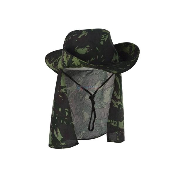 Chapéu Proteção Camuflado - Narciso