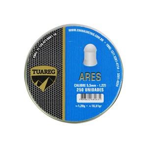 Chumbinho Ares 5.5mm 250un. - Tuareg