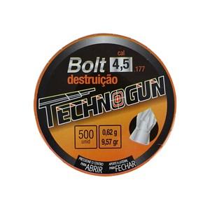 Chumbinho Bolt 4.5mm 500un. - Technogun