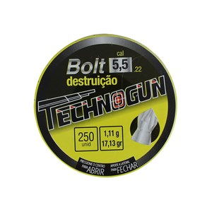 Chumbinho Bolt 5.5mm 250un. - Technogun