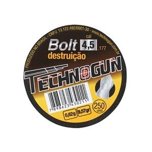 Chumbinho Bolt Destruição 4.5mm 250un. - Technogun