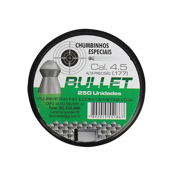 Chumbinho Bullet 4.5mm 250un.