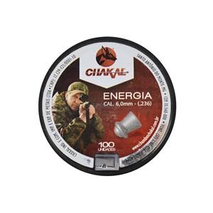 CHUMBINHO CHAKAL ENERGIA 6,0MM 100UN