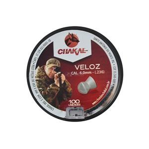 Chumbinho Chakal Veloz 6.0mm 100un.