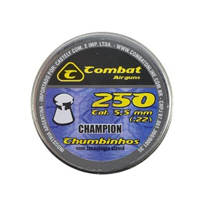 Chumbinho Champion 5.5mm 250un. - Combat